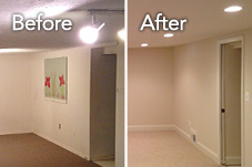 Before & After: Alexandria Basement Remodel