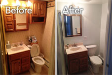 Before & After: Fairfax Basement Remodel